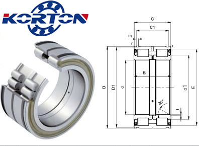 SL Cylindrical roller bearing with full complement rollers SL045024PP